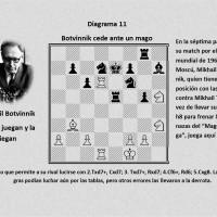 Botvinnik cede ante un mago