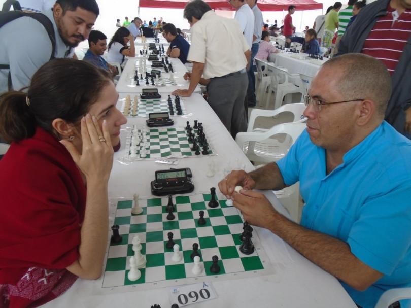 GM Lisandra Teresa Ordaz Valdez y GM Juan Carlos González