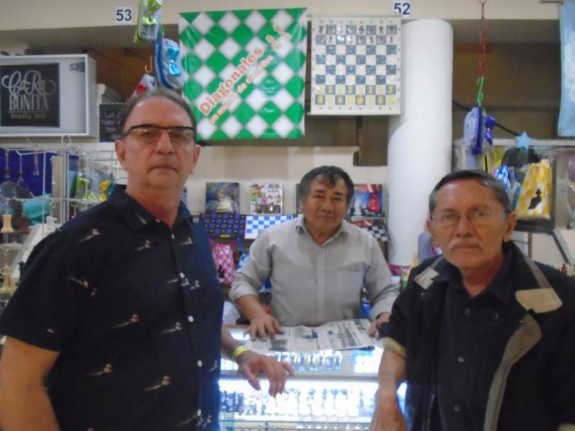 El GM  Reynaldo Vera González-Quevedo en Yucatán, México.