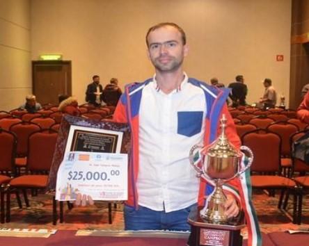 Aramís Álvarez, campeón de la Copa Independencia