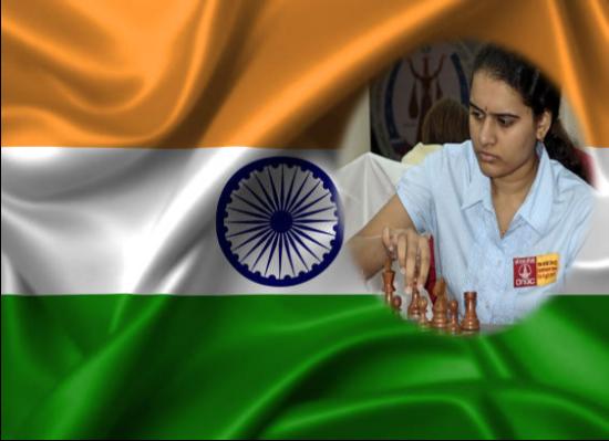 Humpy lleva a la cima la bandera de la India