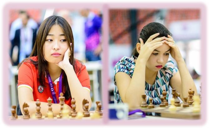 La china Ju Wenjun y la rusa Goryachkina: tablas en 60