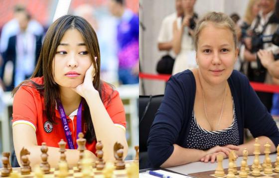 Ju Wenjun gana y alcanza a Valentina Gunina