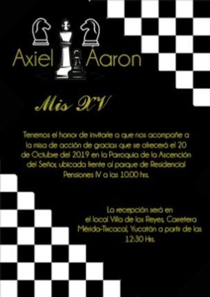 Toque ajedrecístico a los 15 años de Axiel Hidalgo