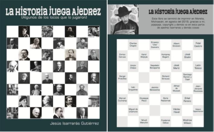Presentan el libro la historia juega ajedrez