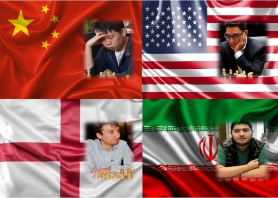 Cuatro líderes en el Gran Suizo