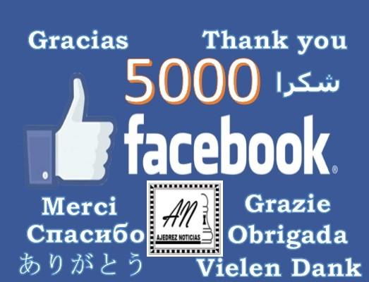 Ajedrez Noticias en Facebook