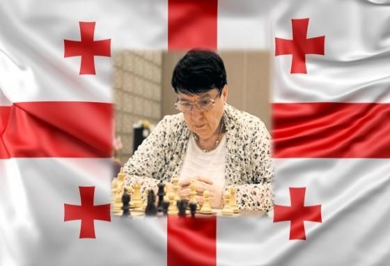 Nona Gaprindashvili, otra vez campeona mundial