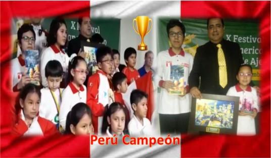 Perú gana 12 medallas en el Panamericano Escolar