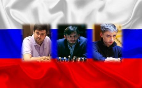 Grischuk y Dubov pasan junto con Navara y Yu Yangyi