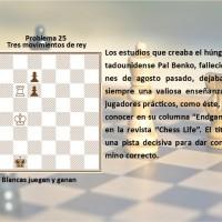 Tres movimientos de rey