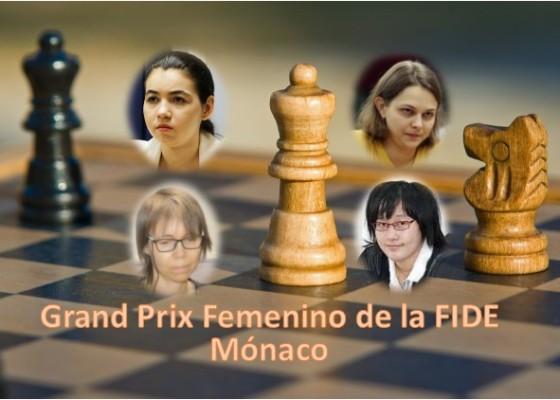 Aleksandra Goryachkina, Anna Muzychuk, Pía Cramling y Zhao Xue