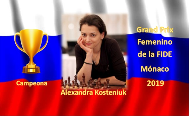 Alexandra Kosteniuk campeona monaco 2019