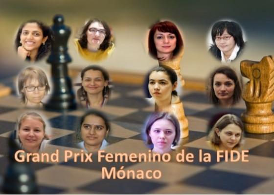 Ajedrecistas del Grand Prix Femenino de la FIDE Mónaco 2019