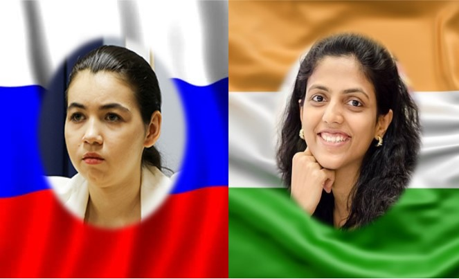 Aleksandra Goryachkina y Harika Dronavalli