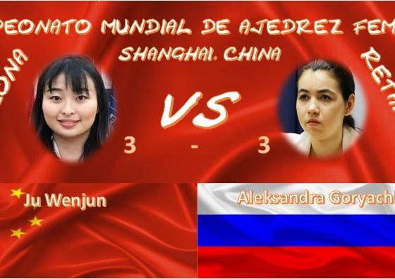Campeonato Mundial de ajedrez femenil 2020 3 a 3