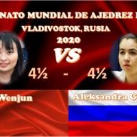 Ju Wenjun gana con blancas