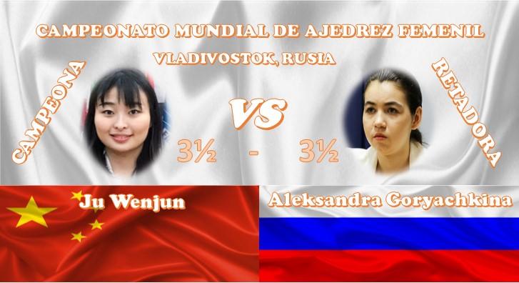 Campeonato Mundial de ajedrez femenil VLADIVOSTOK, RUSIA 2020