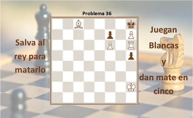 Diagrama 36 Salva al rey para matarlo