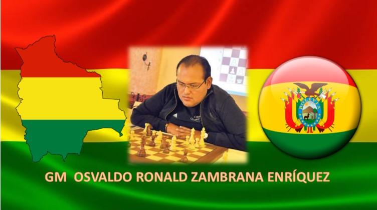 GM OSVALDO RONALD ZAMBRANA ENRÍQUEZ