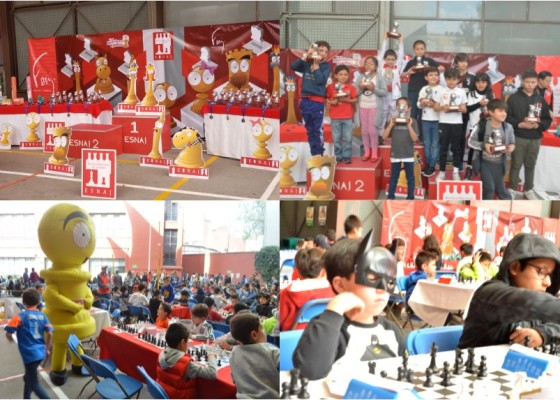 """Torneo 152 de """"Aprendamos Ajedrez"""" ESNAJ"""
