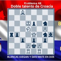 Doble talento de Croacia