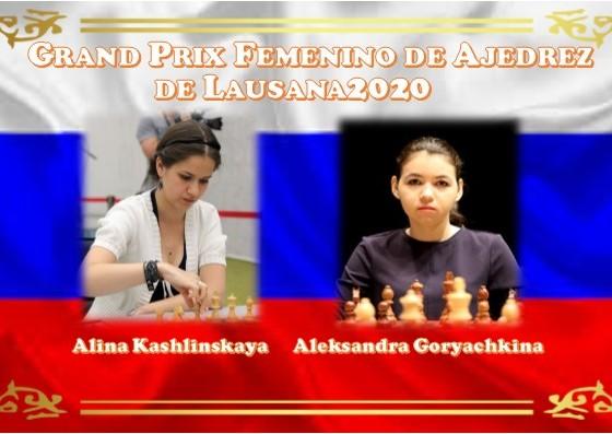 Alina Kashlinskaya y Aleksandra Goryachkina