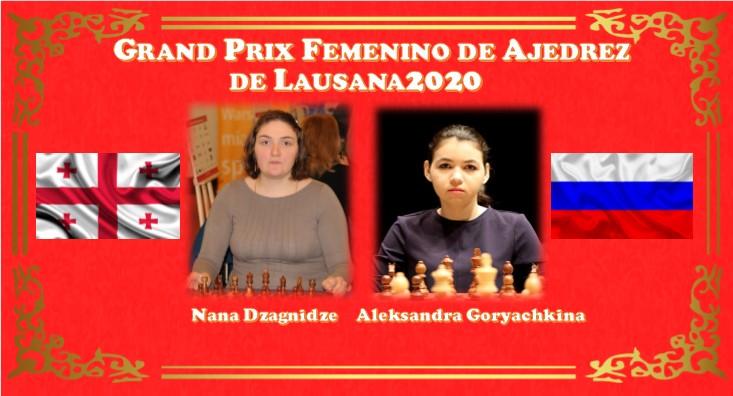 Nana Dzagnidze y Aleksandra Goryachkina