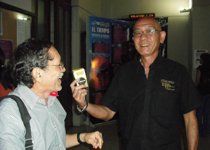 Serafin Chuit y Miguel Sosa