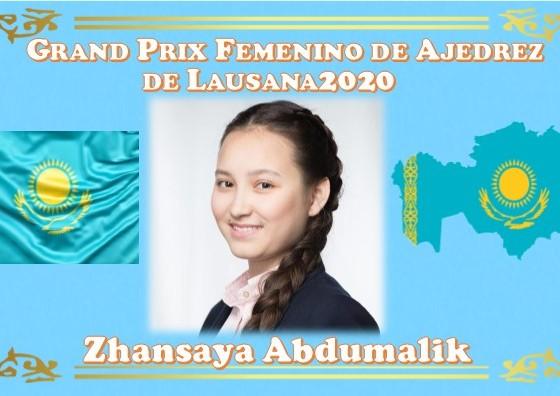 Zhansaya Abdumalik Grand Prix Femenino de Ajedrez de Lausana