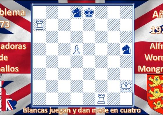 Problema 73 Alfred Wornum Mongredien