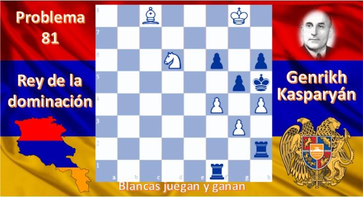 Problema 81 Genrikh Kasparyán