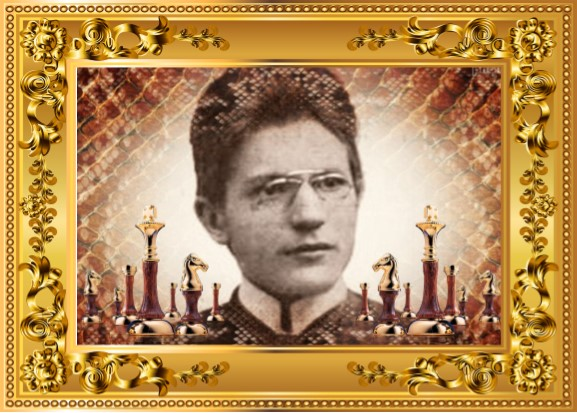 Vladislav Prokes con marco dorado
