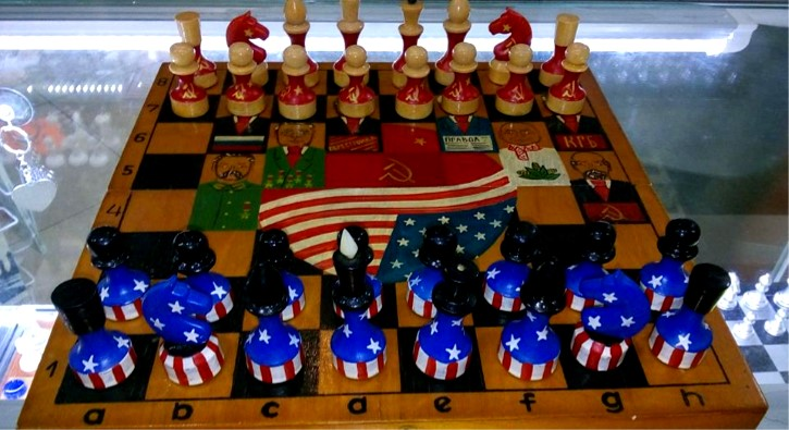 ajedrez rusia vs usa