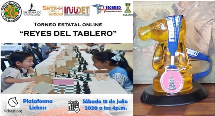 Torneo Estatal online infantil Tabasco