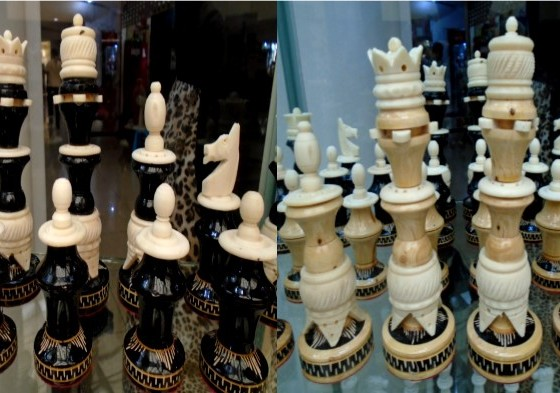 Artísticos juegos de ajedrez hechos en México