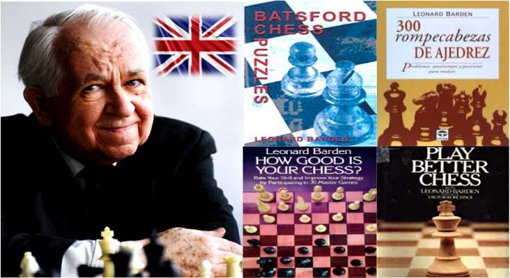 libros de ajedrez Leonard Barden