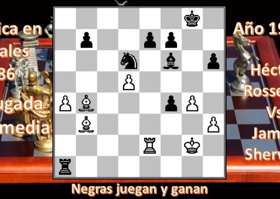 Diagrama 86 Héctor Rossetto vs James Sherwin