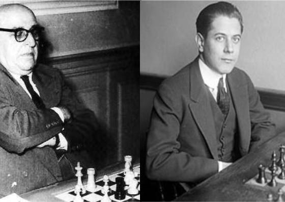 Ossip Bernstein vs Capablanca