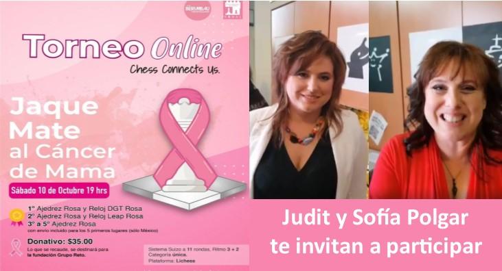 Torneo de ajedrez Jaque Mate al cancer de mama esnaj